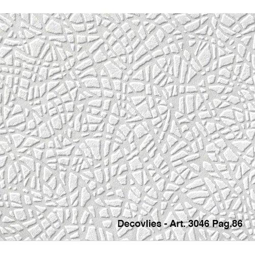 Intervos Glasweefsel behang Decovlies 3046 Intervos rol 25m x 1,06m