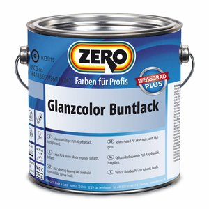 Zero Coatings Glanzcolor Buntlack Hoogglanslak
