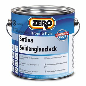 Zero Coatings Satina Seidenglanzlack (Zijdeglanslak)