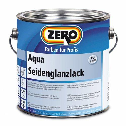 Zero-farbe Aqua Seidenglanzlack  (zijdeglanslak Waterbasis)