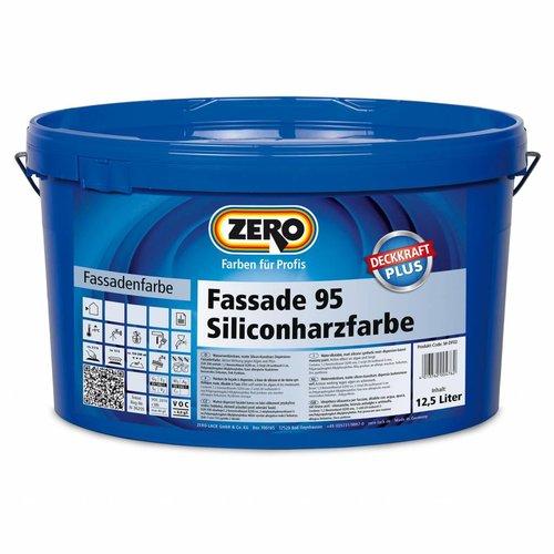 zero Fassade 95 Siliconharzfarbe (Buiten Muurverf)