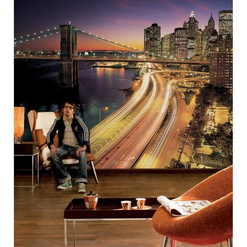 Komar Fotobehang   8-516  NYC Lights