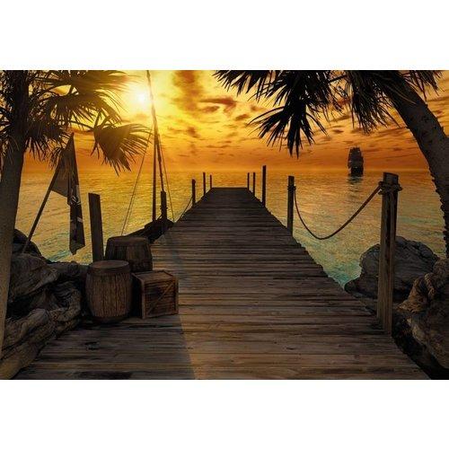 Komar Fotobehang  8-918 Treasure Island