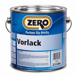 Zero Coatings Vorlack