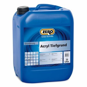 Zero Coatings Acryl Tiefgrund transparent