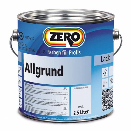 zero Allgrund