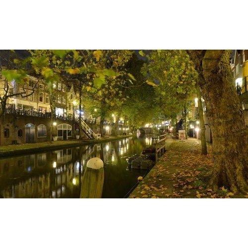 Noordwand  Holland Fotobehang Utrecht By Night 1174 Utrecht By Night 1174