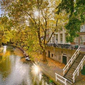 Noordwand  Holland Fotobehang Utrecht Oude Gracht II 1548