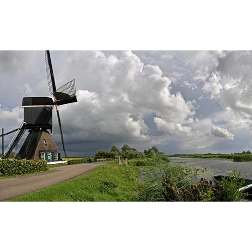 Noordwand  Noordwand Holland Fotobehang Vlietmolen 2880