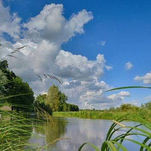 Noordwand  Holland Fotobehang Kromme Rijn III 3288