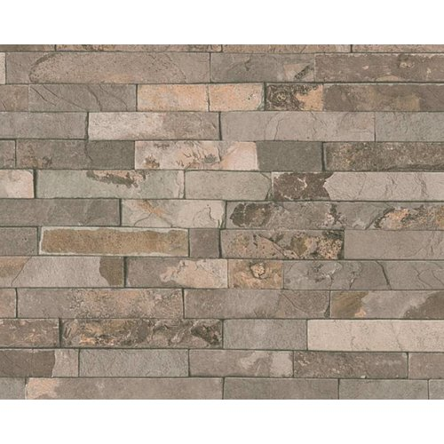 A.S. Creation Wood'n Stone 2 Steen behang 35582-2