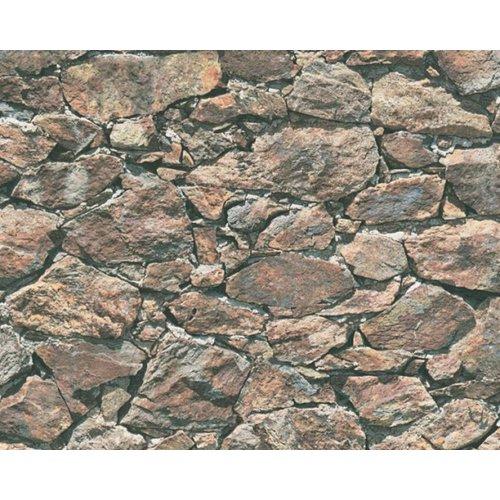A.S. Creation Wood'n Stone 2 Steen behang 35583-2