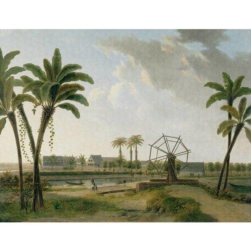 Dutch Painted Memories Mural Coffee Plantation 8001