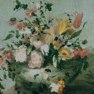 Dutch Painted Memories Mural Flowers 8006