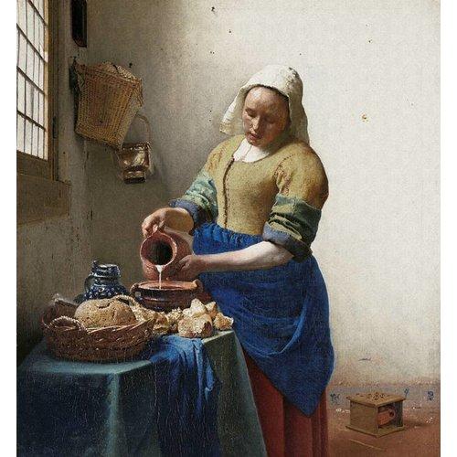 Dutch Painted Memories Mural The Milk Girl 8011