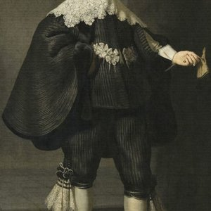 Dutch Painted Memories Mural Portrait of Marten Soolmans 8020