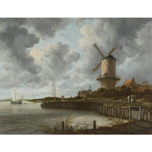 Dutch Painted Memories Mural The Windmill 8023