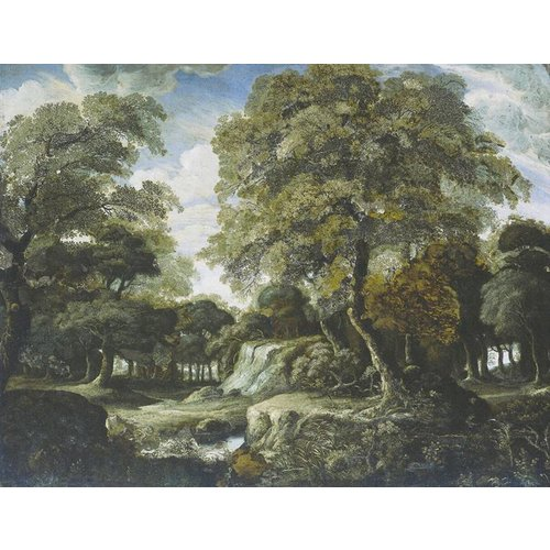 Dutch Painted Memories Mural Forest 8027