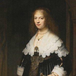 Dutch Painted Memories Mural Portrait of a Woman 8029