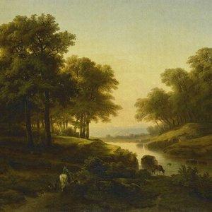 Dutch Painted Memories Mural Landscape 8031