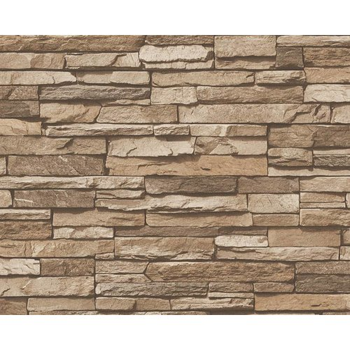 A.S. Creation Wood'n Stone 2 Steen behang 95833-2
