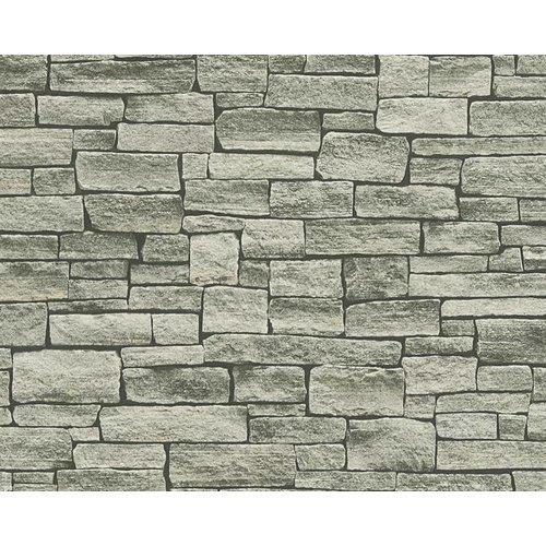 A.S. Creation Wood'n Stone 2 Steen behang 95871-2