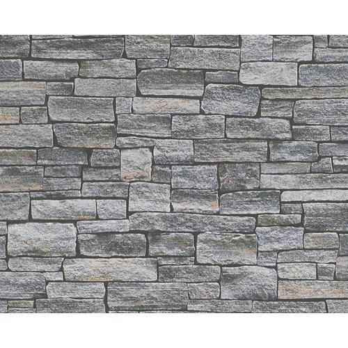 A.S. Creation Wood'n Stone 2 Steen behang 95871-1