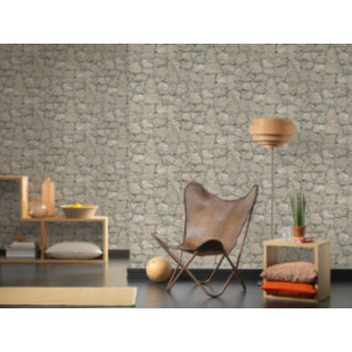 A.S. Creation Wood'n Stone 2 Steen behang 95863-2