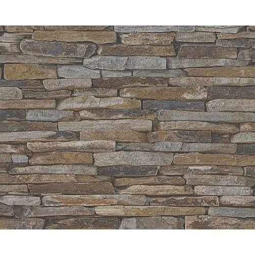 A.S. Creation Wood'n Stone 2 Steen behang 9142-17