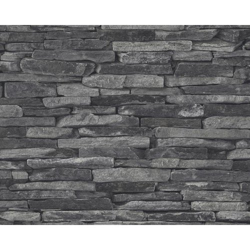 A.S. Creation Wood'n Stone 2 Steen behang 9142-24
