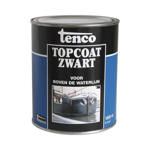 Tenco Topcoat zwart