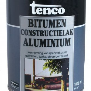 Tenco Bitumen Constructielak Aluminium