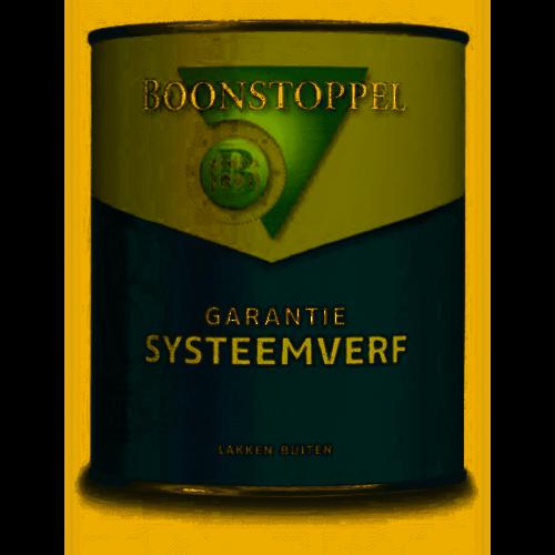 Boonstoppel Garantie Systeemverf