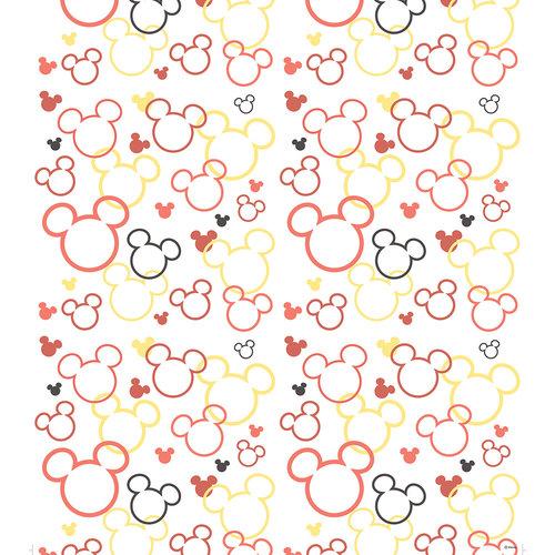 Dutch Dutch Disney Mickey Mouse & Minnie silhouette behang WPD 9749