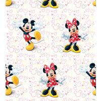Dutch Disney Mickey Mouse & Minnie behang