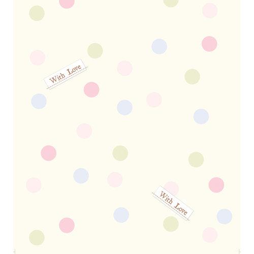 Dutch Dutch Disney Winnie the Pooh pastel polka dots behang WPD 9745