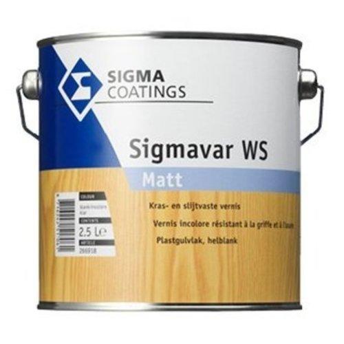 Sigma Sigma Sigmavar WS Matt Kleurloos 1 l