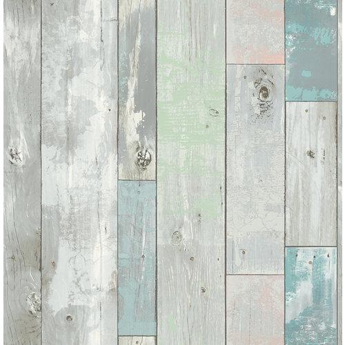 Dutch Dutch Restored Distressed hout behang 20416