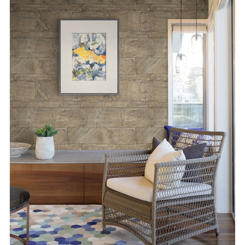 Dutch Dutch Restored Sandstone Wall behang 24022