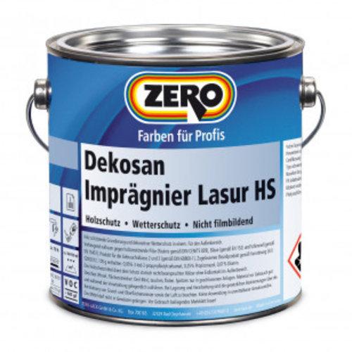 zero Dekosan impregneerglazuur HS transparante houtkleuren