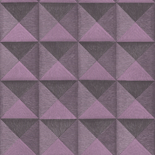 Dutch Dutch Beaux Arts II Purple Behang BA220066