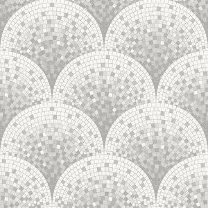 Dutch Dutch Beaux Arts II Tile Effect Grey BA220044