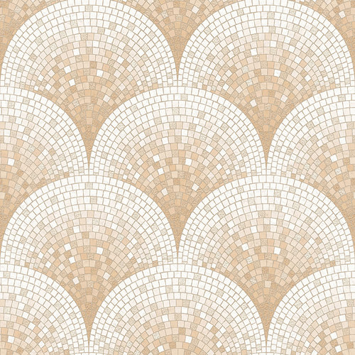 Dutch Dutch Beaux Arts II Tile Effect Rose Gold Behang BA220043