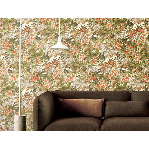 Dutch Dutch Beaux Artrs II Behang Floral Green BA220021