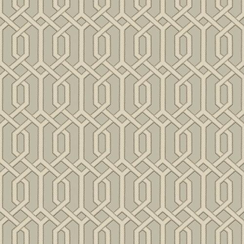 Dutch Dutch Beaux Arts II Grey Geometric Behang BA220015