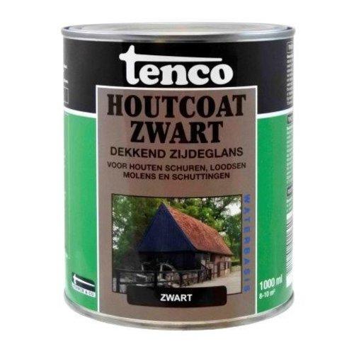 Tenco Tenco houtcoat zwart waterbasis zijdeglans