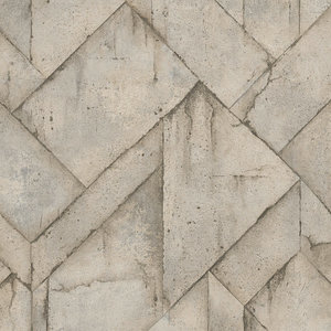 A.S. Creation AS Creation Industrial steenblokken Lichtbruin 37741-4