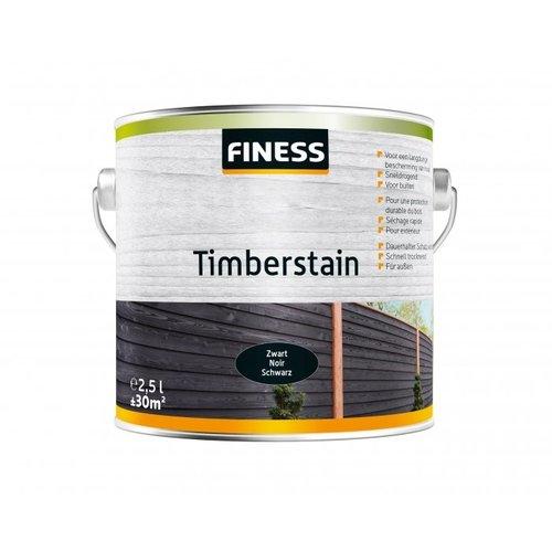 Finess FINESS TIMBERSTAIN ZWART 2,5 l