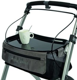 Wheelzahead Black tray for Rollator INDOOR