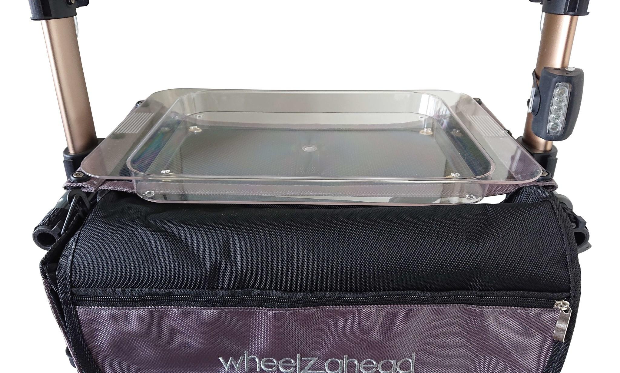 Wheelzahead Dienblad TRACK Transparant